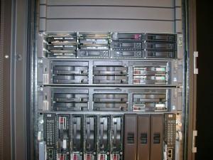 DL320s, 2x DL380 G4, BladeSystem