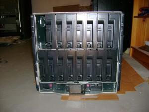HP BladeSystem c-Class C7000 Enclosure